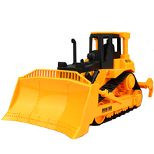 Extra Large 1:22 Simulation Crawler Type Bulldozer Children's Toy Farmer Car Truck Engineering Vehicle Model Kids Gift Toys(China)