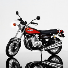 1/12 Kawasaki 750RS(Z2) Red Diecast Motorcylce Model Kids Gift Collection Gift Motorcycle Collection and Decoration Toy for chid
