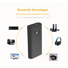 FIFATA Wireless 2 in 1 audio receiver transmitter enable TV computer CD plyer Speaker with bluetooth funtion Built-in battery(China)