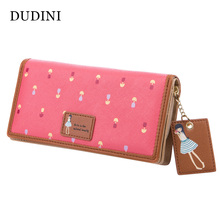 Buy DUDINI New Fashion Cute Women Wallet PU Leather 6 Colors Printing Hasp Long Wallets Ladies Clutch Change Purse Card Holder for $7.62 in AliExpress store