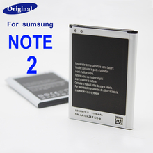 Original Phone Battery For Samsung Galaxy Note 2 II Note2 Battery of N7100 E250 Note 2 LTE N7105 N7102 T889 L900 Verizon i605
