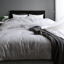 White cotton comforter suitable for spring and autumn pure and comfortable children and adults love(China)