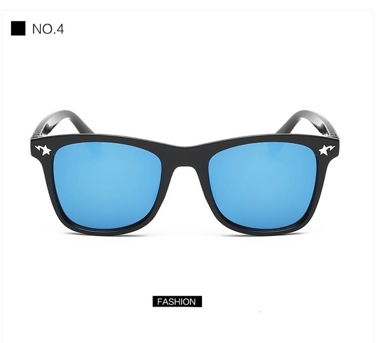 Fashion Kids Sunglasses lovely Sunglasses Mosaic Boys Girls Pixel Eyewares With Case Children Gift (8)