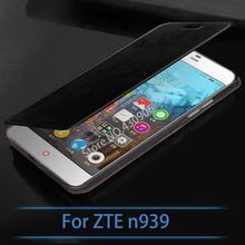New Arrival For ZTE n939 Case Luxury Flip Leather Stand Case For ZTE n939 With Retail Packaging Book Style Cell Phone Cover