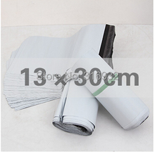 E3  White 13*30 cm Self Adhesive Seal mailing bags,express bags,courier bags,express envelope , 100pcs/lot