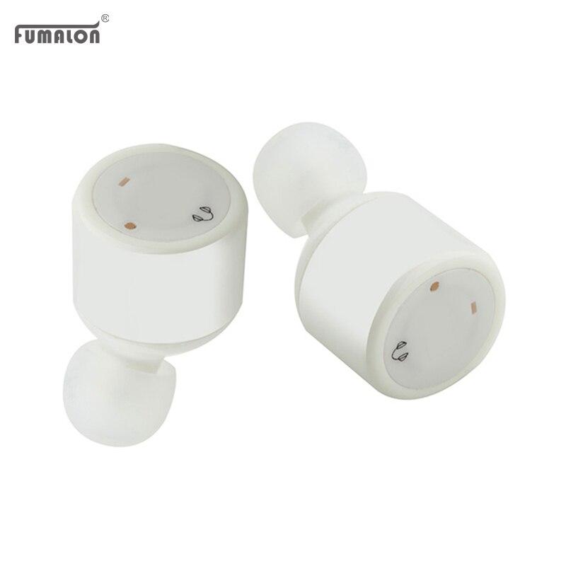 Fumalon Mini Original In Ear Earbuds Twins True Wireless Earphones CSR 4.2 Sport Stereo Bluetooth Earphone X1T For Airpods/Xiaom<br><br>Aliexpress
