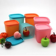 New Style Refrigerator Crisper Sealed Transparent Plastic Box Kitchen Sorting Food Storage Box Container Accessories(China)