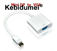 Kebidumei 2015 New Mini DisplayPort Display Port DP To VGA Adapter Cable for Apple MacBook Air Pro iMac Mac Mini Adapter Cable