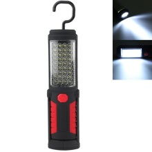 360 degree foldable Bright 36+5 LED Flexible Hand Torch Work Light Magnetic Inspection Lamp Flashlight Torch Battery Powered