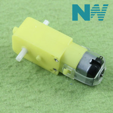 TT Motor 130motor Smart Car Robot Gear Motor for Arduino DC3V-6V DC Gear Motor Free Shipping