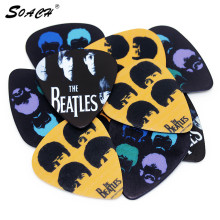 SOACH 10pcs/Lot 1.0mm thickness acoustic stratocaster Guitar Picks guitarra strap ukulele & bass guitar parts Accessories(China)
