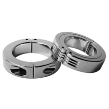 50mm Metal cock ring Scrotum Stretcher Ball Stretcher Weight for CBT ball stretcher penis lock sex products for men penis