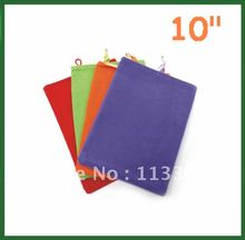 "10pcs Universal 10.1 inch Soft Sleeve Case for 10.1""  Tablet PC Ainol Novo 10 Hero II PiPO M3 Ampe A10 Sanei N10 U30GT"