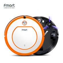 Fmart Robotic Vacuum cleaner For Home Appliances Wet&Dry Mop Sweep Side Brushs Vacuums Remote Control SelfCharge