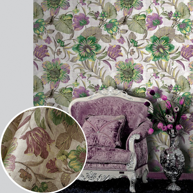 wall paper Pune environmental non-woven wallpaper American rural countryside flower painting style backdrop wallpaper bedroom e<br><br>Aliexpress