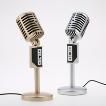 Professional 3.5mm Computer Microphone Audio Studio Multimedia Wired Stand Mic for Skype/Online Chatting/Speech/Meeting/Singing(China)