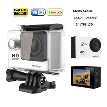 High cost performance MINI action camera W9R W9 170D wide angle lens WIFI remote control lithium battery Sports Camera