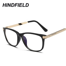 Men Prescription Eyewear Retro Clear Glasses Brand Women Spectacle Frame Vintage Optics Eyeglasses Square Reading Fake Glasses(China)