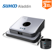 2016 Now Smart Floor Mopping Robot for your Home GPS navigation Planned Cleaner Dust Water Tank mop Wet and Dry SUHOO aladdin