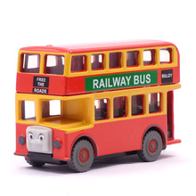 Bus Bulgy Thomas Train Magnetic Thomas And Friends Metal Iron Alloy Model Trains Toys For Children Kids(China)