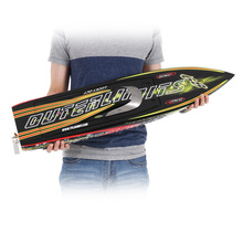 Freeshipping from Germany 1126A Patron Saint 2.4G Racing Brushless Electric Water Cooling Speedboat Fibre Glass RC Boat