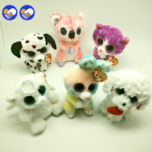 A toy A dream Ty Beanie Boos Koala rabbit angel bear 6inch Big Eyes Beanie Baby Plush Stuffed Doll Toy Collectible Toys Kids