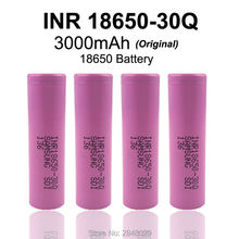 4PC. New original Samsung SDI INR18650-30Q 3000 mAh 18650 rechargeable lithium battery 15A discharge power used elec - SikeLaier Enterprise Store store