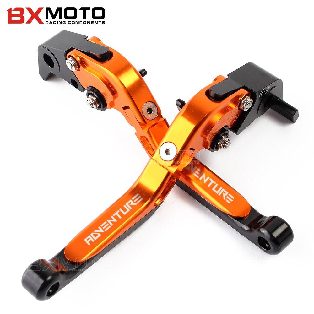 Motorcycle lever Adjustable CNC Aluminum brake clutch levers For KTM 1090 Adventure 1190 Adventure R Super Adv 1290 S/T/R<br>