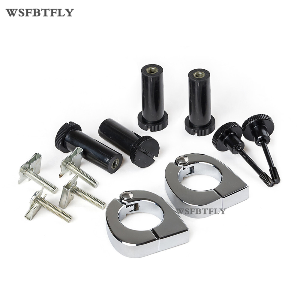 Motorcycle Quick Release Mounting Hardware Lower Vented Fairings Leg For Harley Touring 2005-2013 06 07 08 09 10 11 12 <br>