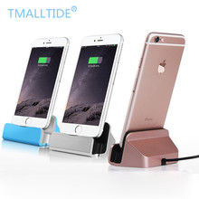 Tmalltide Universal Android Mobile Phone Dock Charger Micro USB Type C Docking Stand Sync Data Charging Dock for iPhone 6 7 plus