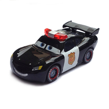 Pixar Cars Police Lightning McQueen Diecast Metal Cute Cartoon Movie Toy Car For Children Gift 1:55 Loose Brand New In Stock(China)