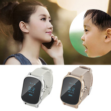 Kids The Elderly Smart SOS Call GPS Wifi LBS Location Watch Kids Tracker Safe Anti Lost Monitor Watch for Android iOS Cellphones