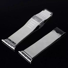 DW 38mm 42mm Stainless Steel Minnow Net Milanese Elegant  Metal Watch Band Bracelet Strap for Apple Watch Iwatch I39.