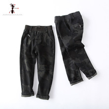 Kung Fu Ant 2017 Autumn Kids Pants Full Length Boys Children Trousers Home School Street Casual Clothing 73421(China)