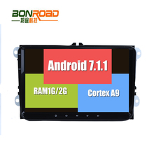 New Android RK3188 7.1.1 Car DVD Player 2Din Stereo Radio for VW GOLF 5 Golf 6 Polo Passat CC Jetta Tiguan Touran GPS Navigation