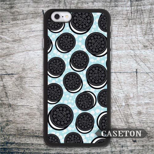 Many Oreo Cookie Lovely Case For iPhone 7 6 6s Plus 5 5s SE 5c 4 4s and For iPod 5 Funny Ultra Protective Cover