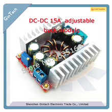 free shipping 15A synchronous buck moduel High current adjustable step-down module  Automotive industry LED power supply module