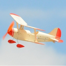 New Arrival Aeroplane TY Model NO.5 296mm Wingspan Wood Park Flyer RC Airplane KIT