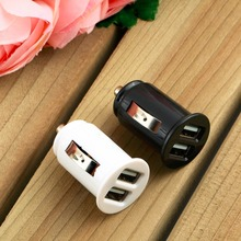 Hot Worldwide Car Cigarette Powered Dual 2 Port USB Car Charger Adaptor for iPad for iPhone 4 4S YKS