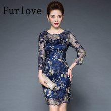 45d6bebc9 Luxury Lace Bordados Mulheres Vestido de Verão Vintage Penlic Magro Mini  Casual Bordado Floral Bodycon Partido