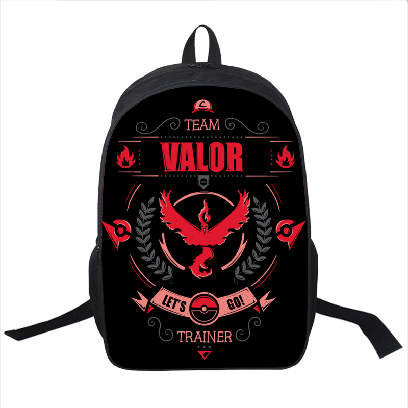Anime Pokemon Go Backpack For Teenagers Girls Boys School Bags Pikacun Children School Backpacks Pokeball Kids Best Gift Bag<br><br>Aliexpress