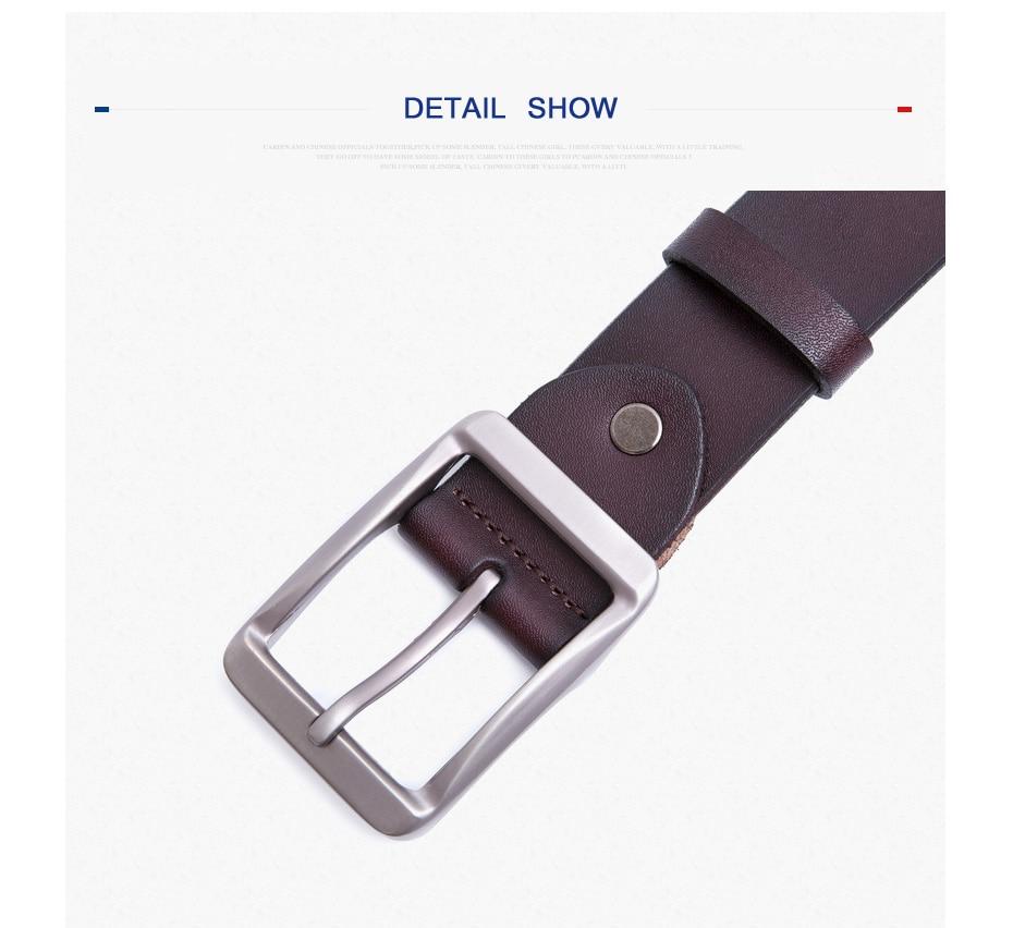 [MILUOTA] cowhideเข็มขัดหนังแท้สำหรับผู้ชายยี่ห้อสายชายอีกต่อไปcintoวินเทจกางเกงยีนส์เข็มขัดdropshipping MU205 10