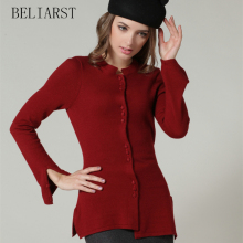 New Women's Cashmere Sweater Knit Cardigan Sweater Jacket Casual Dress Asymmetrical Slim Explosion Models Genuine Mail