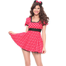 Sexy minnie mouse adultos fiesta de halloween navidad cosplay mujeres fancy dress costume