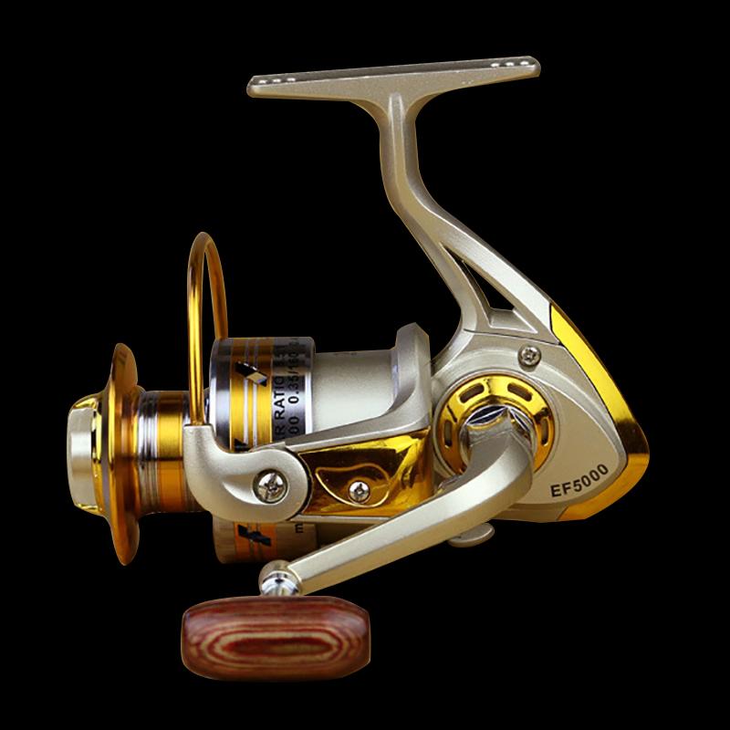 FDDL Metal Fishing Reel Baitingcasting Reel 5.51 EF1000-7000 10BB Lake Ocean Ice Fishing Gear Spinner Reel Fishing Coils (10)