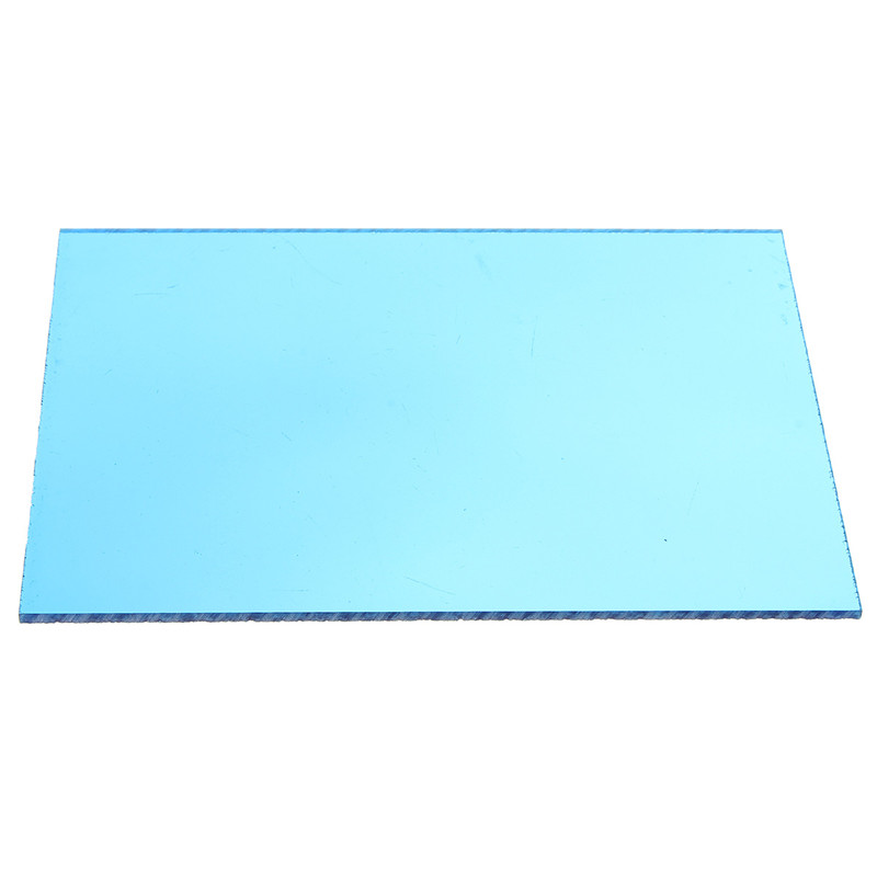 148*105*3mm Transparent Blue Acrylic Plate Clear (Extruded) Home Decor Plexiglass Plastic Transparent Sheet Low Price(China)
