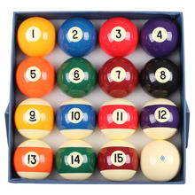 Billiard Balls Set 57mm/52mm Size Billiard Ball Numbers Billiards Accessories China 2016(China)