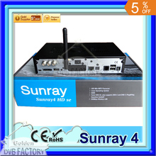Sunray 800 Se SR4 dvb800hd SE Triple Tuner Wifi Internal SIM2.10 Sunray4 HD se Satellite Receiver Wholesale (1pc SR4) free DHL(China)