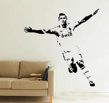 CRISTIANO RONALDO GOAL CELEBRATION FOOTBALLER STARS SPORT WALL ART STICKER DECAL VINYL TRANSFER MURAL
