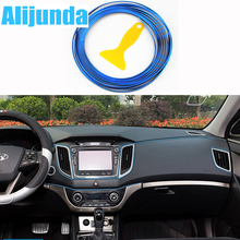 5 m Car Grille Inner Outer Profiles Trim Decorative Ribbon Line for Hyundai ix35 iX45 iX25 i20 i30 Sonata,Verna,Solaris